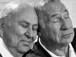 Carl Reiner and Mel Brooks.