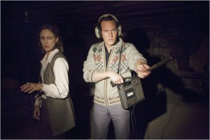 Vera Farmiga and Patrick Wilson hunt for ghosts in The Conjuring
