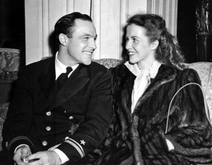 Gene Kelly and Betsy Blair (1945).