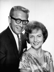 Allen Ludden and Betty White (1963).
