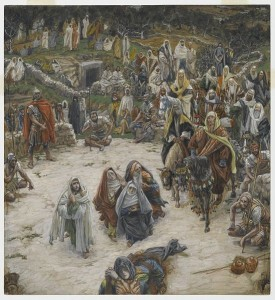 James Tissot, What Our Lord Saw from the Cross (between 1886 and 1894).