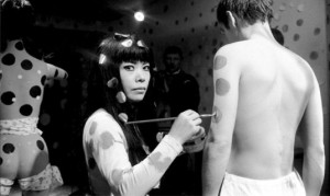 Kusama Paints an Actor