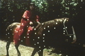 Kusama Rides A Horse in Self-Obliteration
