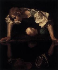 Narcissus, Caravaggio (1597-99)