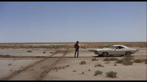 Desert with Car