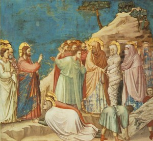 Giotto, The Raising of Lazarus (c. 1304)
