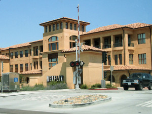 Netflix headquarters in Los Gatos (California, USA)