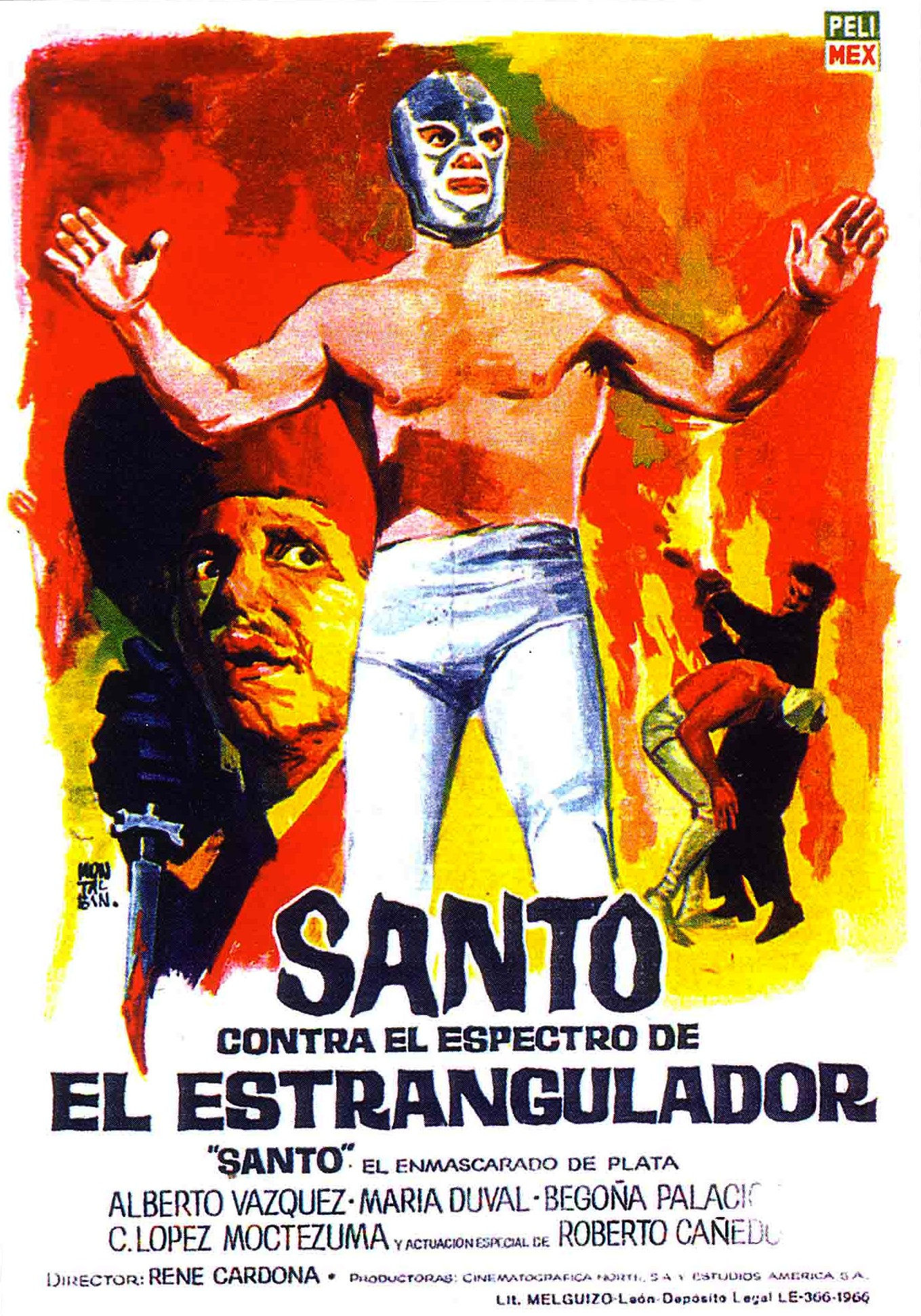 Santo Santo in the Museum of the Mexican Film Industry Film