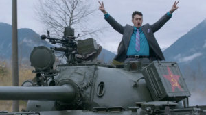 Franco with Tank