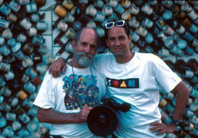 Les Blank and Harrod Blank. Photo: David Silberberg