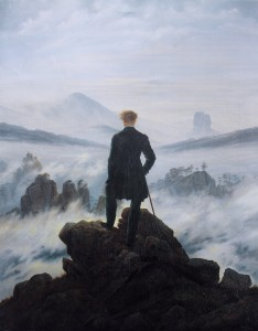Wanderer Above the Sea of Fog (Caspar David Friedrich)