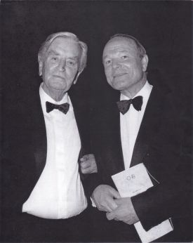 SAMUELSON WITH SIR DAVID LEAN