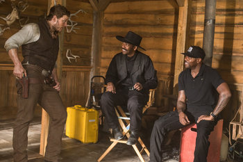 Denzel Washington;Chris Pratt;Antoine Fuqua