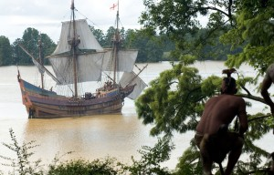 The New World (2005) Directed by Terrence Malick Shown: The Susan Constant