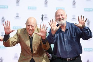 Honorees Carl Reiner and Rob Reiner at TCM Classic Film Festival