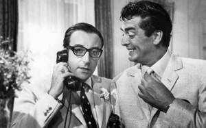 After the Fox (1966)  aka Caccia alla volpe  Directed by Vittorio De Sica  Shown from left: Peter Sellers, Victor Mature