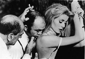 "On the set of Belle de Jour (1967): ""Buñuel thoroughly enjoys his freedom and his fun"""