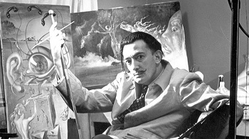 "Buñuel on Dali: """"The only thing he did [on Un Chien Andalou] was put the donkeys on the pianos and the tar around their eyes. In L'Age d'Or, he didn't do anything"""