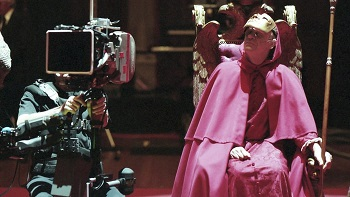 Vitali, in front of the camera as Red Cloak, in Eyes Wide Shut