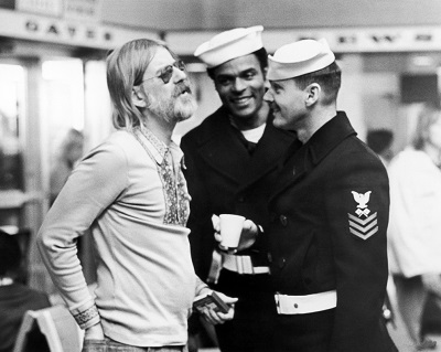 On the set of The Last Detail (1973)