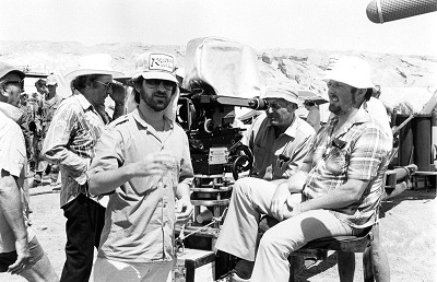 On the set of Raiders of the Lost Ark