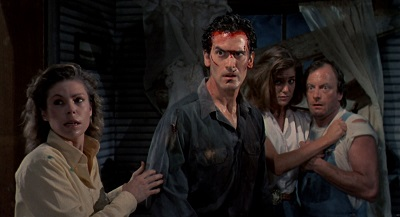 "Evil Dead II: ""It's a requel, whatever you want to call it!"" Bruce Campbell"