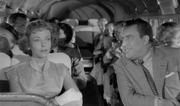 With star/director Ida Lupino in The Bigamist